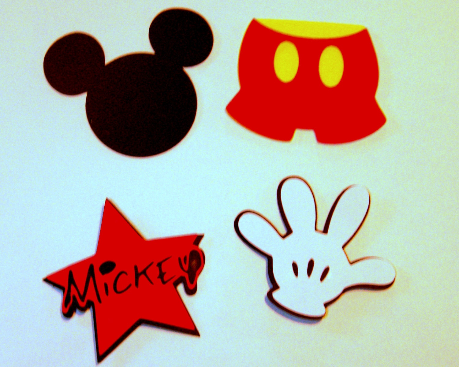 mickey mouse cut s - photo #31