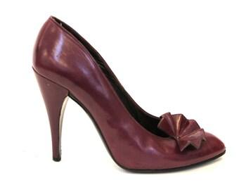 1980s designer heels by Charles Jourdan