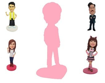 bespoke fully personalized custom figurine &3D doll 100% handmade (Free Shipping Worldwide)