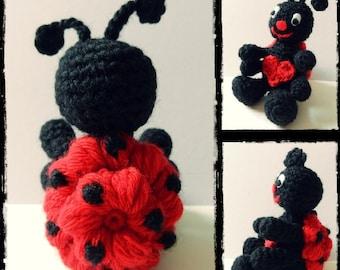 Crochet pattern Leonie the Ladybug - Amigurumi