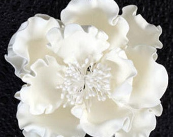 Special order Only! Elegant  Gumpaste Peony Flower       Simply Beautiful