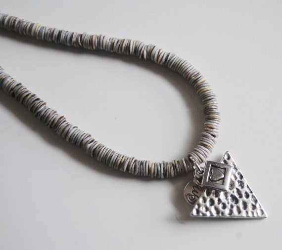 s necklace s jewelry s shell by