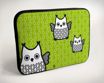 Owl - Laptop Case - Laptop Bag - Laptop Sleeve