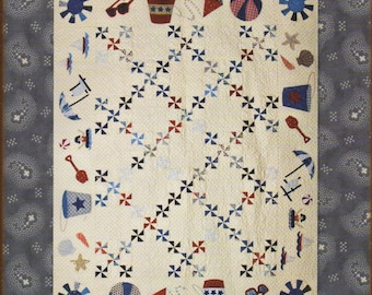 La Playa Quilt Pattern by Minick and Simpson