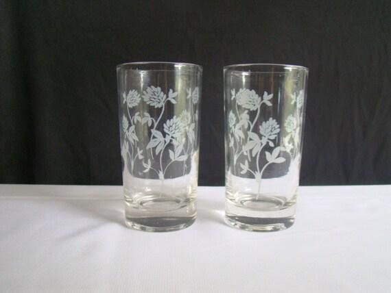 Vintage Juice Glasses 117