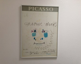 1966 Mourlot Lithograph Poster By Pablo Picasso