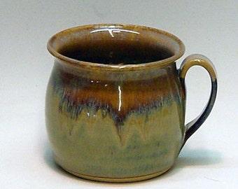 Ceramic Soup Mug / Rusty Pearl / Soup Bowl , Pottery Bowl , Pottery Mug ,Ceramic Mug , Ceramic Bowl , Handmade Bowl , Chili Bowl , Chili Mug
