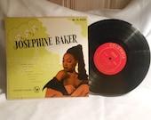 Josephine Baker - Columbia -  33 1/3 LP  Records -  FL  5932 Avec Orchestra