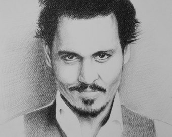 Sample-Custom Portraits-Pencil Drawing on paper