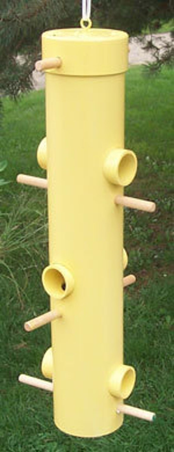 how to make a bird perch out of pvc pipe