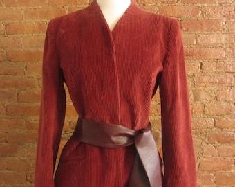 1970s Diane von Furstenberg skirt suit | Size M - L