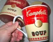 Andy Warhol Campbell's soup china mug in a presentation box