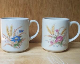 Vintage Coffee Mugs