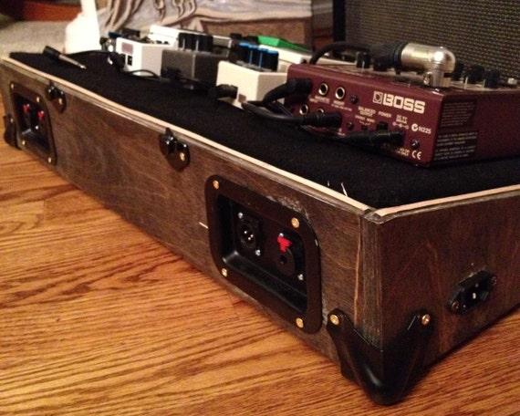 custom guitar pedal board case. Black Bedroom Furniture Sets. Home Design Ideas