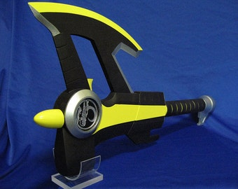 MMPR Power Rangers Axe Prop RAW KIT