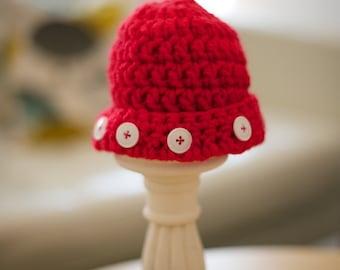 Cute as a Button Hat