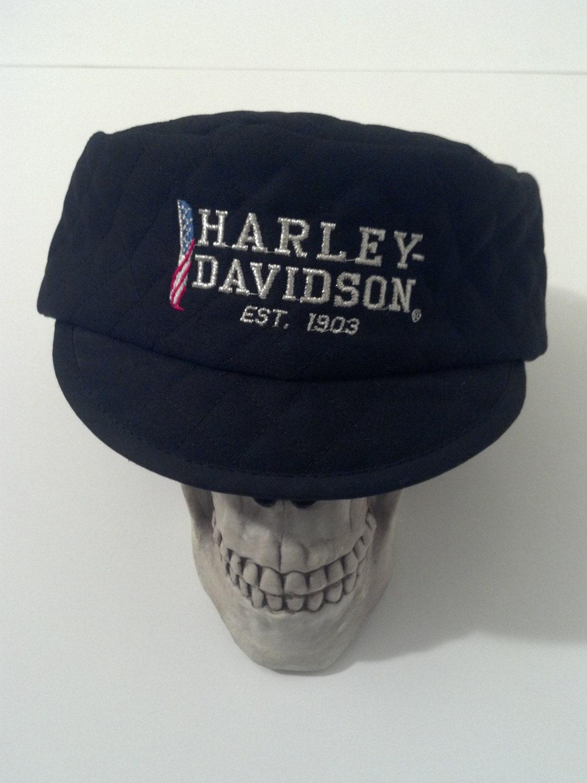 Vintage Harley Davidson Motorcycle Hat | Vintage harley ...  |Vintage Harley Davidson Hats