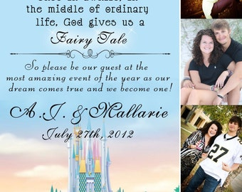 Disney Inspired Save the Date