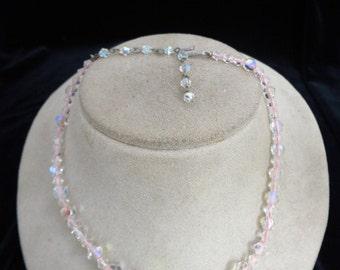 Vintage Sparkly Aurora Borialis Necklace