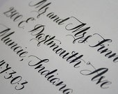 Handwritten Calligraphy in CAROLYNA font