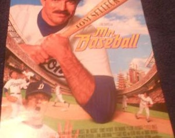 Tom Selleck Mr Baseball Vintage Movie Poster