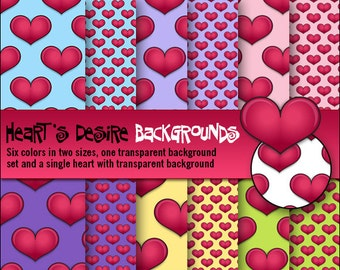 Heart's Desire Backgrounds