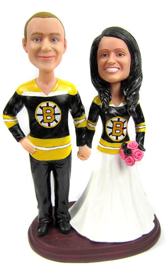custom hockey wedding cake toppers custom hockey wedding cake toppers sculpted to look by 13202