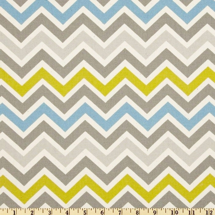 Unusual Grey And Yellow Chevron Fabric Images - Bathtub for ...