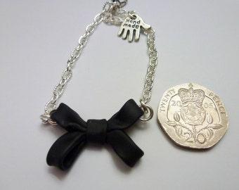 Pretty Feminine Bow Bracelet
