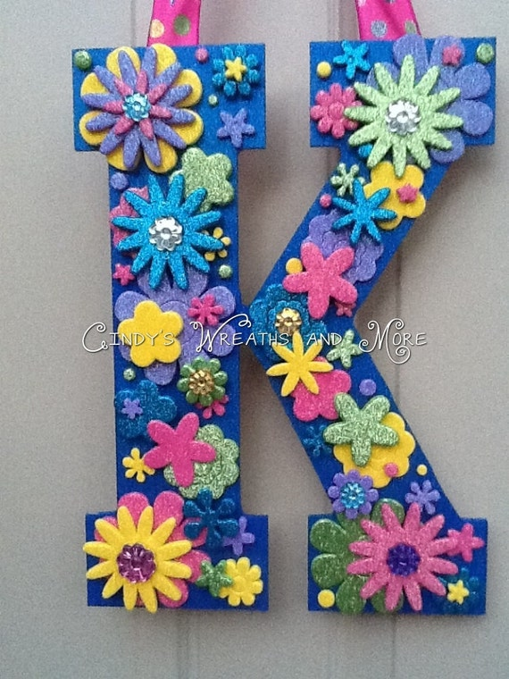 Items Similar To Custom Decorative Letter Teenager