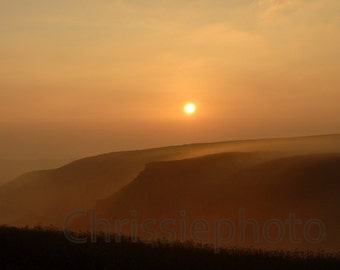 Misty Morning,Taken from Blubberhouses, North Yorkshire Moors