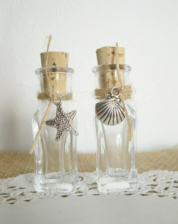 Sand Bottle Wedding Favor For Your Beach Wedding Your