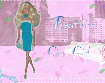 Clothes for Barbie dolls - Beatrice City Girl