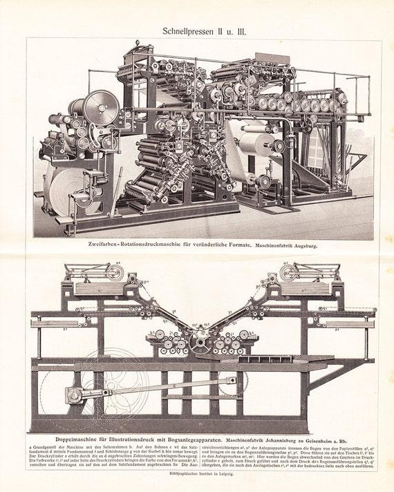 Vintage Printing Press 117