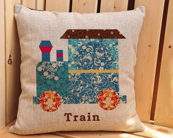 Throw Away Pillow Cases : Popular items for train cushion on Etsy