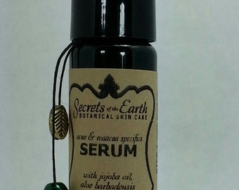 ACNE/ROSACEA SPECIFICS Serum with Anti-Oxidants, Minerals, Essential Oils,Vitamins and Floral Distillates