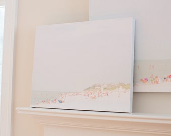 """20"""" x 16"""" Cape Cod """"Dennis Beach"""" Canvas Print"""