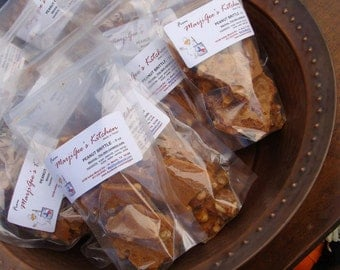 Peanut Brittle - 8oz.