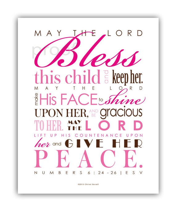 Items Similar To Printable Scripture Art Nursery Decor