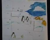 Penguin Advent Calendar w...