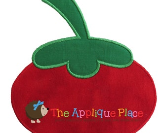 Tomato Machine Embroidery Applique Design