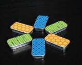 Decorative Tin Sliding Cases - Empty