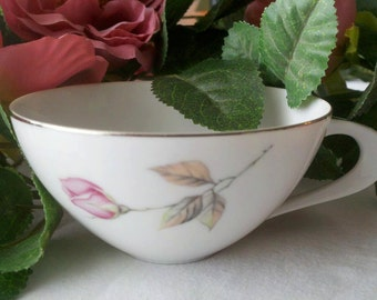 Style House Fine China Dawn Rose made In Japan Tea Cup Circa 50's