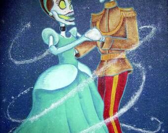 Day of the Dead/ Dia de Los Muertos Print - Baila Cinderella by Lisa Cabrera