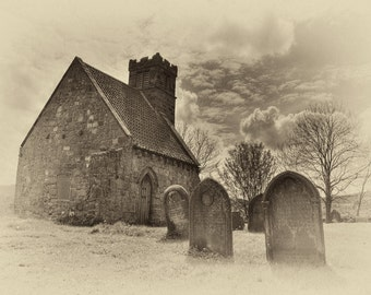 Upleatham Church, England. Claims to be the smallest in England/