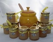 Honey Bee Wedding Favour, Small Pot of Honey, Honey Bee, Baby Shower