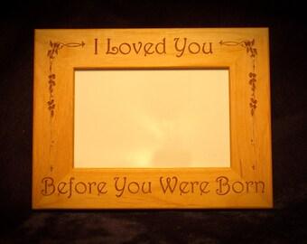 5x7 Engraved Frame, Any Design