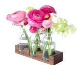 wood vase romatic