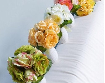 50pcs wholesale Silk Rose Flowers Fit DIY Bridal Bouquet  Wedding Bouquet