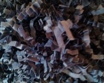 Dark Blue Crinkle Paper Shred - 4 oz bag